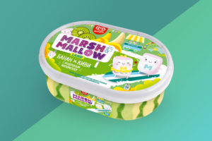 Мороженое MARSH&MALLOW LAND Банан-Киви