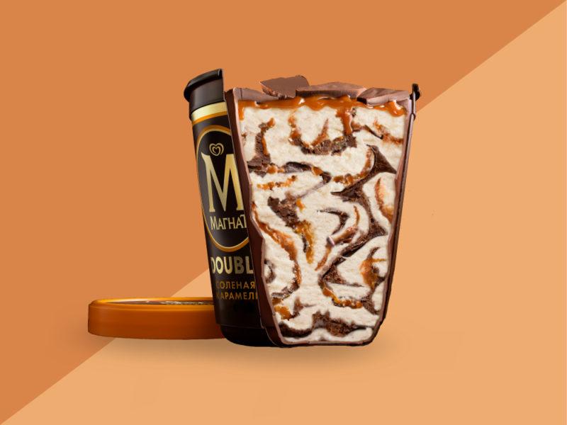 Мороженое Магнат Соленая карамель Пинта