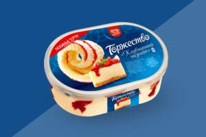Мороженое Торжество Клубничный чизкейк (1)
